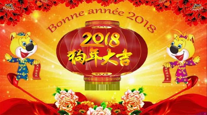 Le nouvel an chinois 2019
