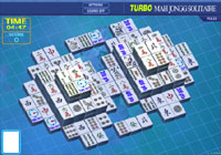Turbo Mahjongg Solitario