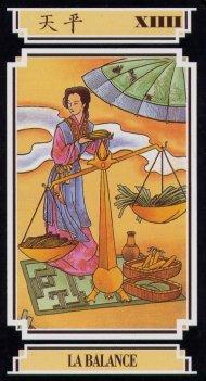 34aea2869598e1 Tarot chinois  interprétation des 22 lames ou cartes